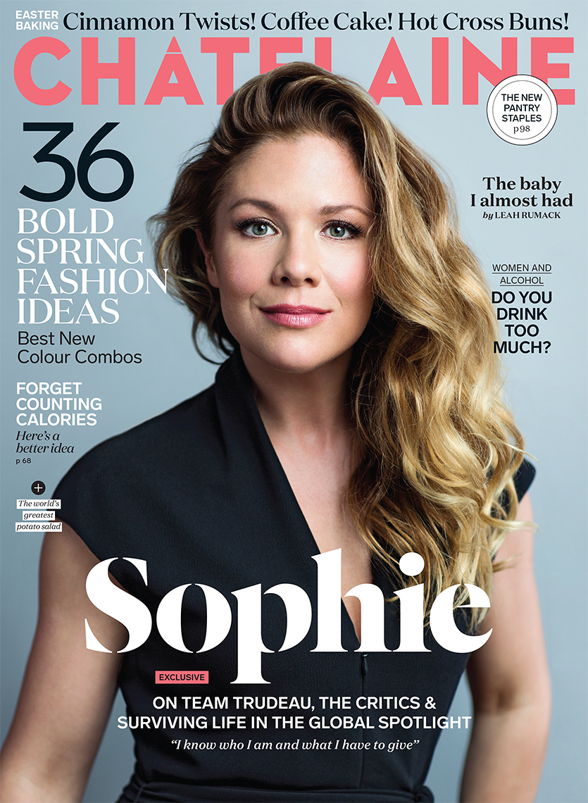Sophie Trudeau for Chatelaine Magazine